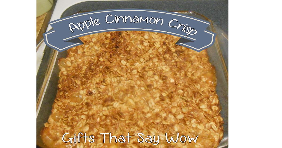 Apple Crisp With Cake Mix And Brown Sugar