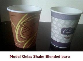 CUP Shake Blended yg baru