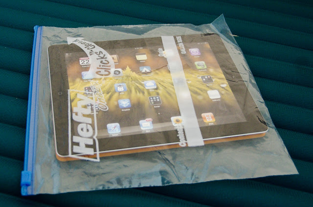 Apple iPad2 in protective case