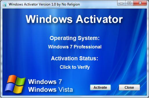 windows 7 ultimate 32 bit activator loader free download