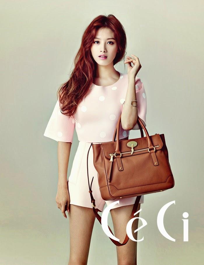 Jaekyung Rainbow - Ceci Magazine November Issue 2014
