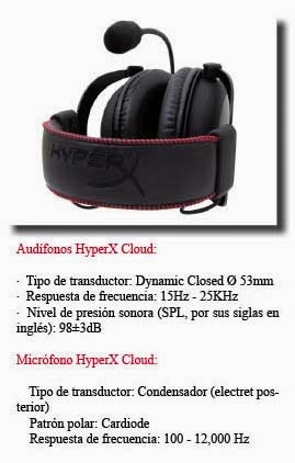 HyperX-lanza-audífonos-Cloud-gamers