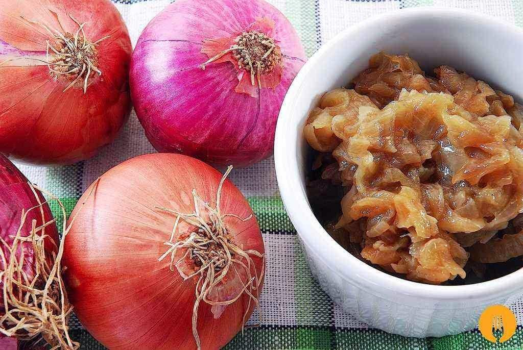 receta cebolla caramelizada