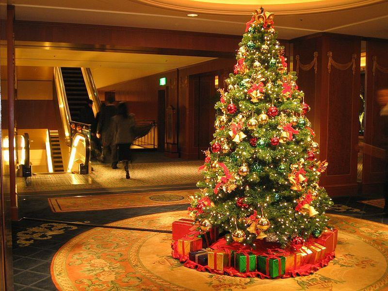 Happy Holidays ! Let's look the most beautiful christmas trees around