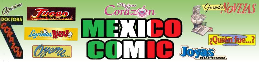 Mexico Comic Romanticos