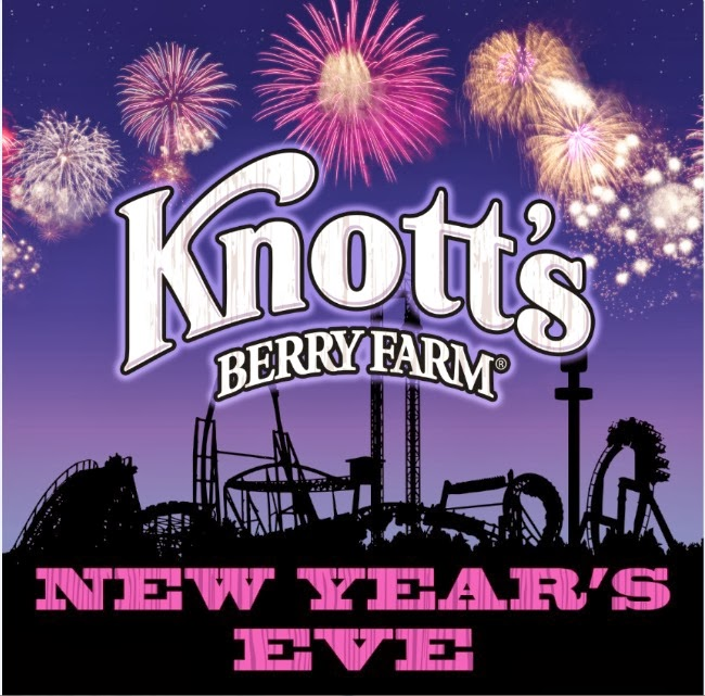 new year's eve celebration at Knott's Merry Farm