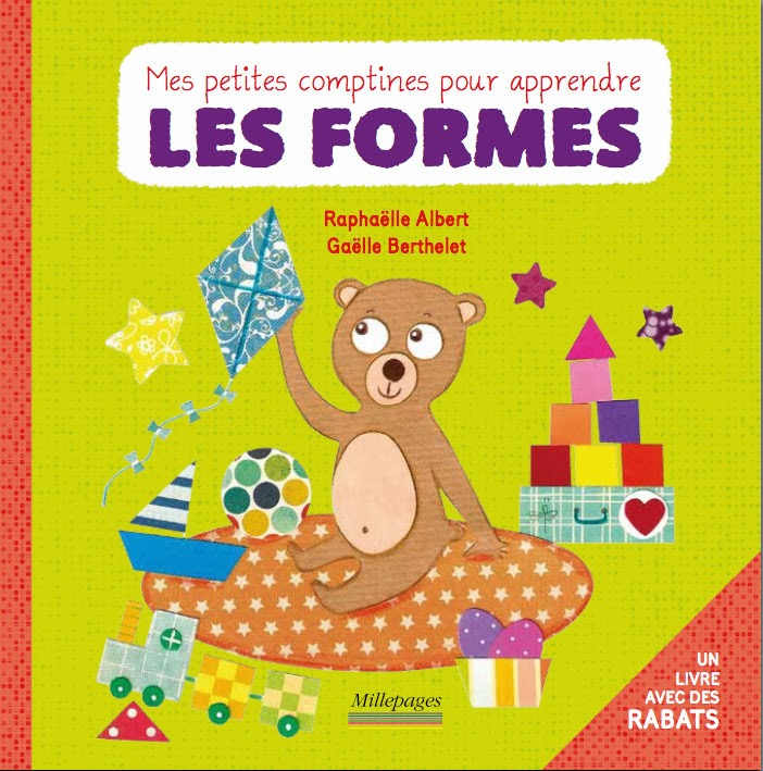 Mes petites comptines pour apprendre les formes