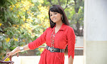 Aarushi latest Glamorous Photos in red top-thumbnail