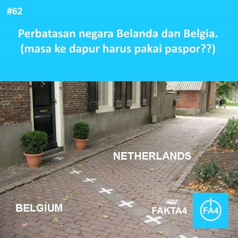 Di Antara Belanda dan Belgia