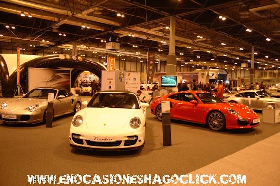 Porsches en Madrid Motor Days