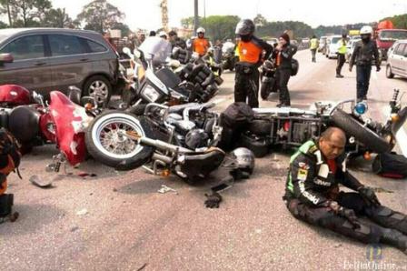 bikers arogan
