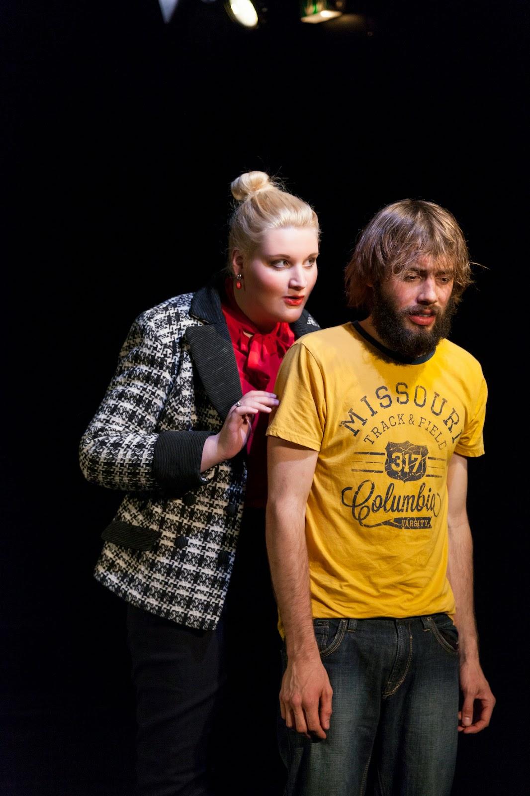 Der samtene Sog - Theater Bielefeld - Foto: Julia Laubig