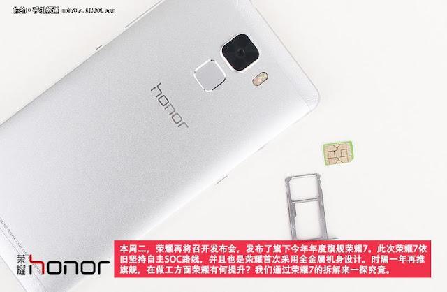 Inilah jeroan Huawei Honor 7