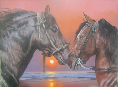 caballos-al-oleo