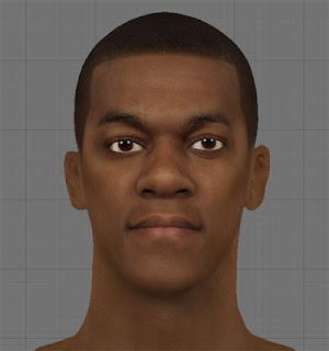 NBA 2K13 Rajon Rondo HD Cyber Face Patch