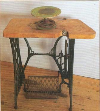 Гончарный стол делают тяжелым,