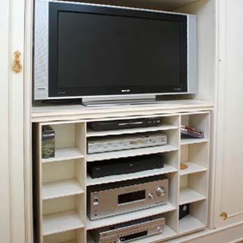 Muebles para tv modernos decorando mejor for Mesa para tv de 50 pulgadas