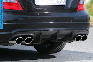 Mercedes c250 exhaust - صور شكمان مرسيدس c250