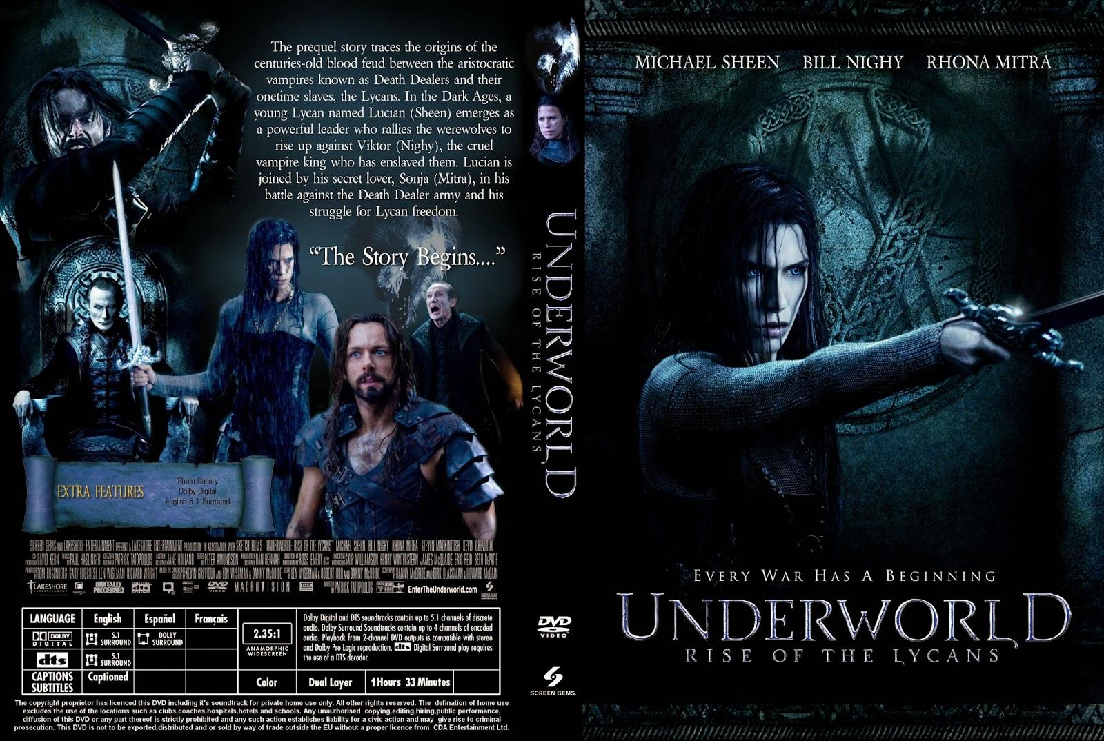 Underworld La Rebelion De Los Lincatropos DVD