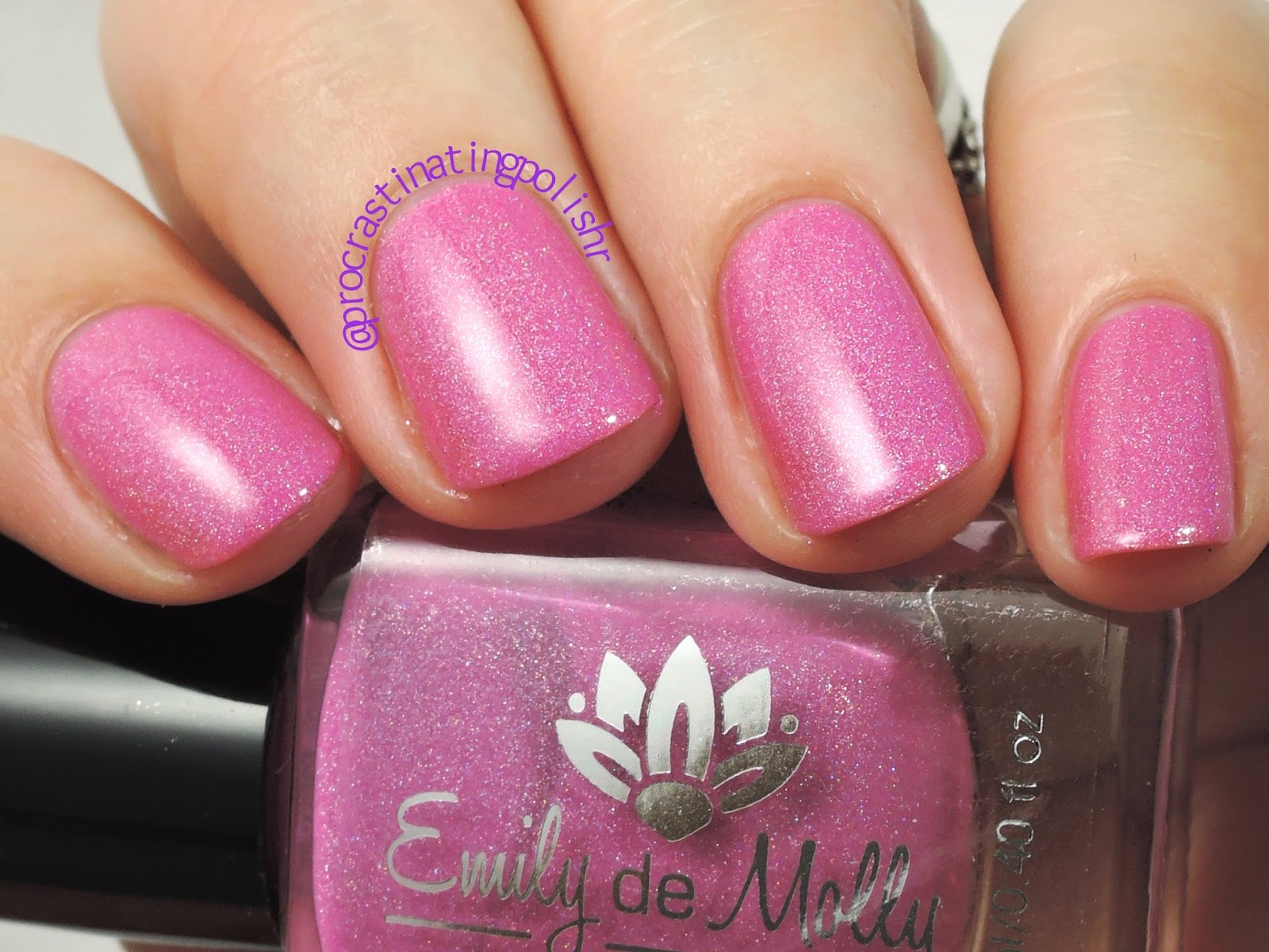 Emily de Molly - You Saved my Life | Pink scattered holo