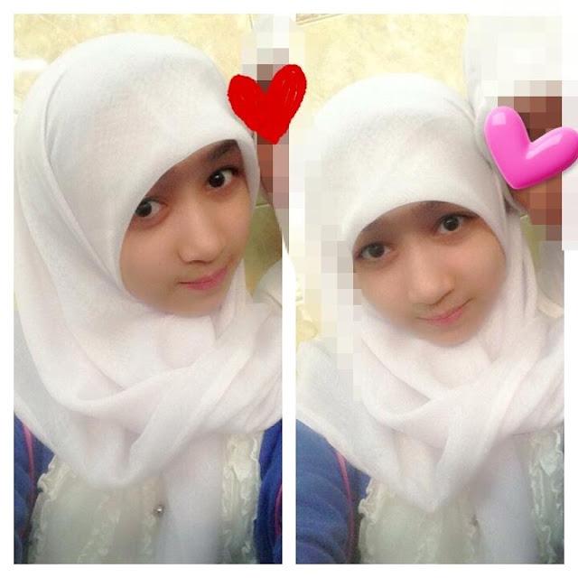 Foto Ayana JKT48 Berjilbab sedikit alay