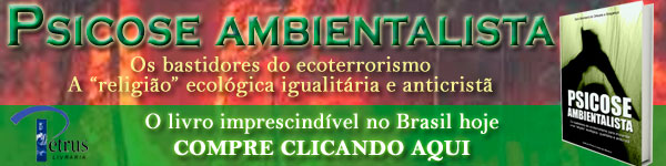 "Livro ""Psicose Ambientalista"""
