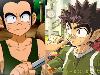 Jack (MAR) dan Raimon Taro (Eyeshield 21)