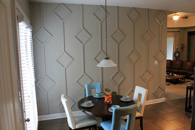 House envy it 39 s all in the details - Cool wall treatments ...