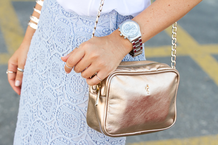 Accesorios y complementos tendencia metalizados oro plata blog moda