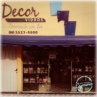 """DECOR VIDROS"" DECORANDO SEU LAR"