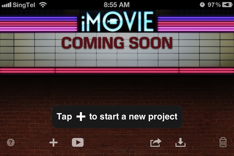 Making a music video in imovie 11