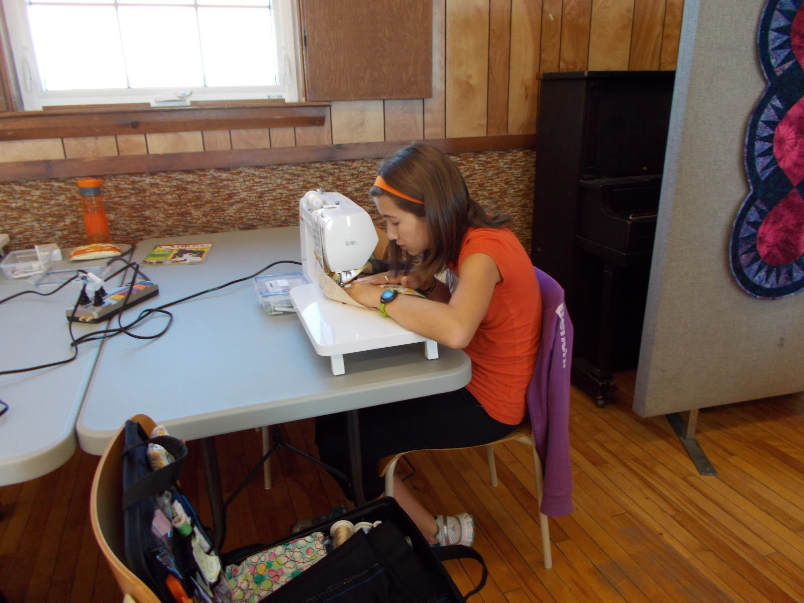 Ouvrages dune Acadienne: Grand-daughter Laurene inspires me