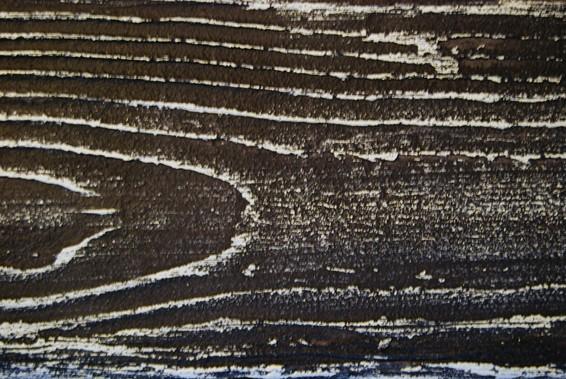 black white imitacja drewna elewacja