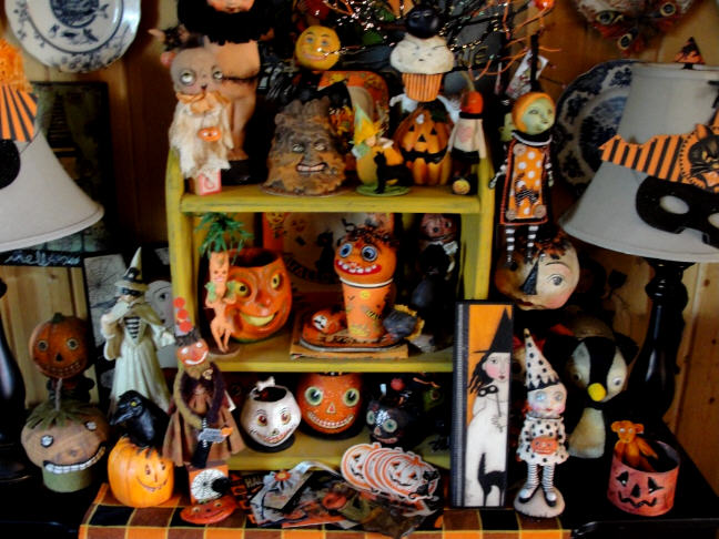 Hophopjingleboo Halloween Home Decor