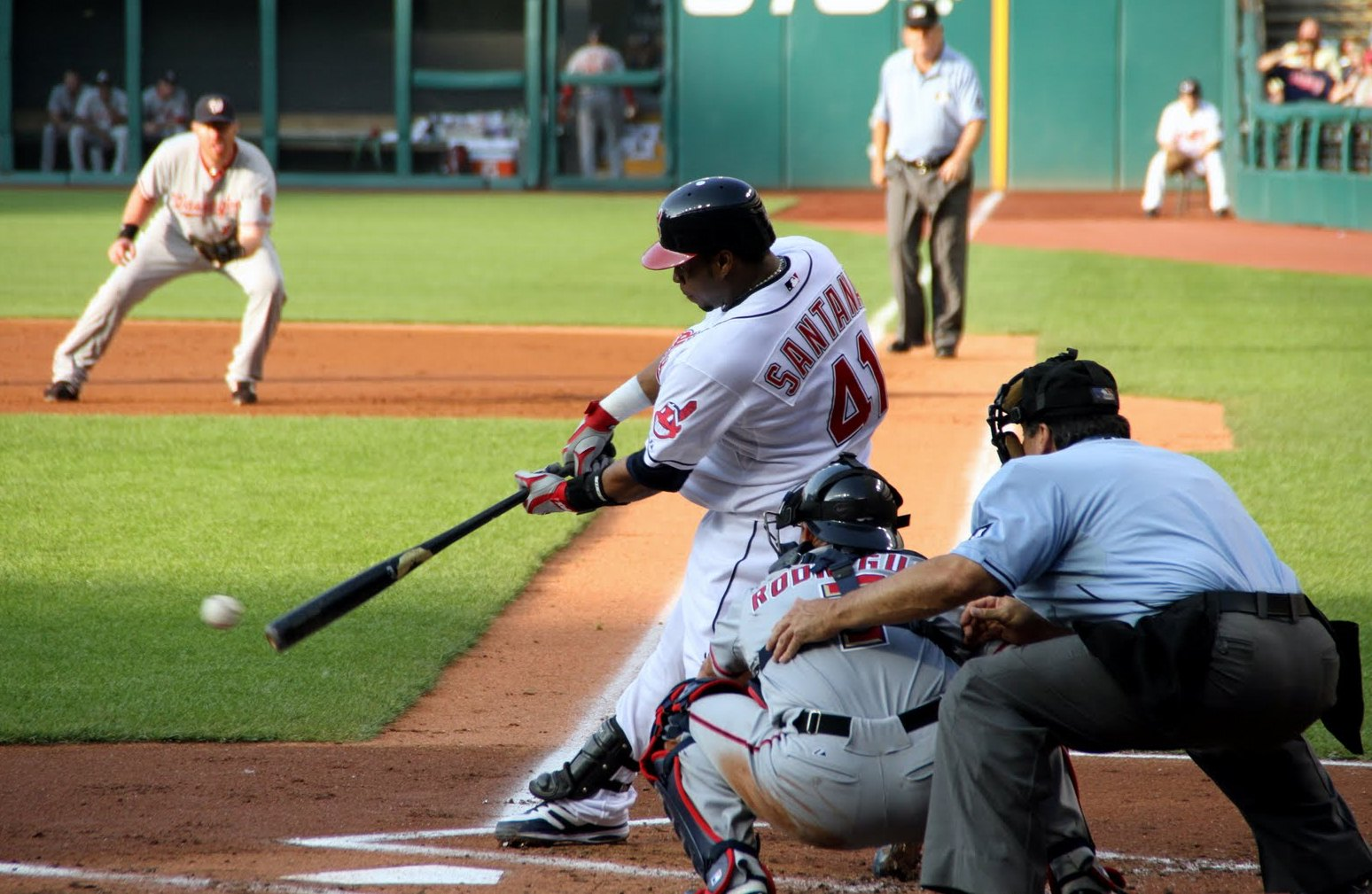 Will Santana find a home at third base?