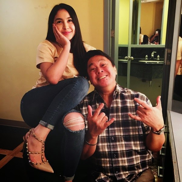 Julia Barretto posts photo with father Dennis Padilla on Instagram