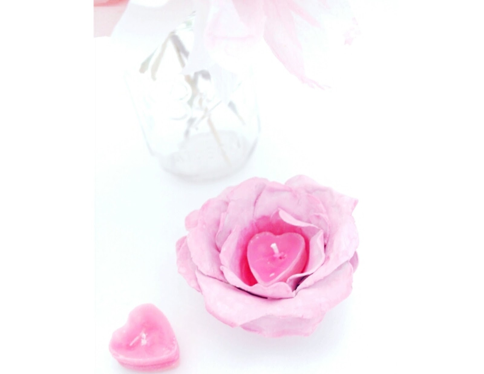clay flower candle holder tutorialtwigg studios