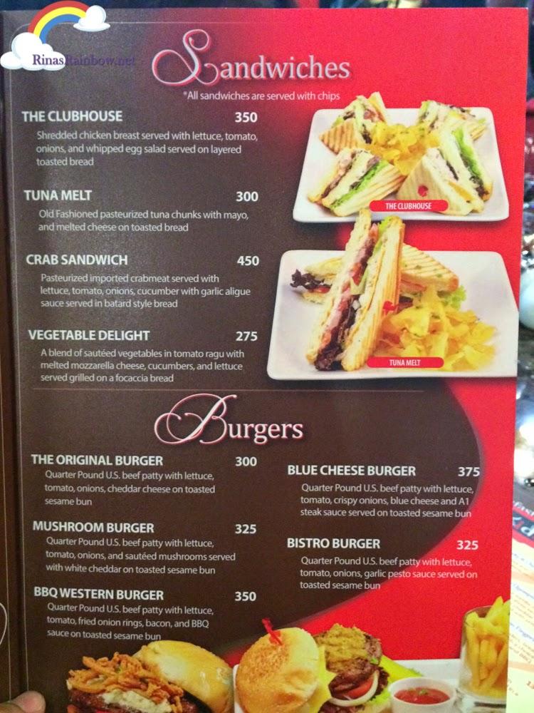 jet 7 bistro menu