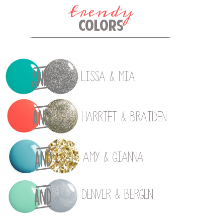 Trendy Nail Polish Combinations