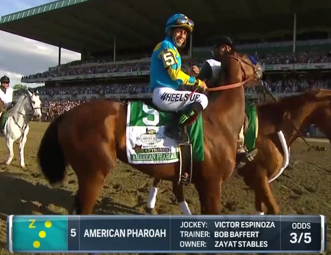 Parablesblog unleash the beast pharaoh obama during the final race of the triple crown the horse bore the monster logo a stylized 666 in hebrew characters as did the jockey and the owners buycottarizona Choice Image