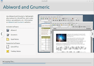 Lubuntu shipped with AbiWord and Gnumeric
