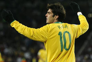 Kaká volverá a vestir la '10' de la selección Brasil