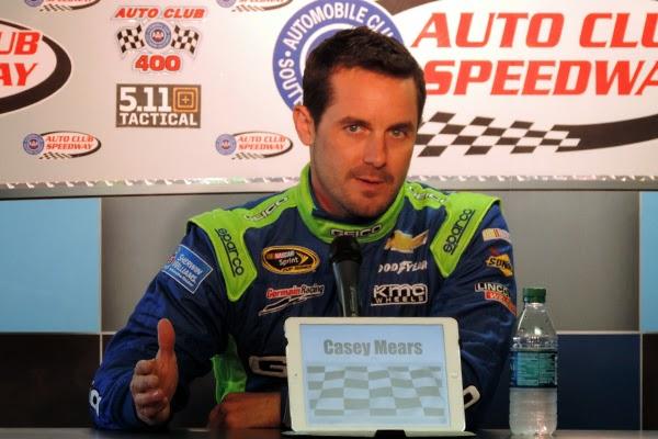 NASCAR Driver Casey Mears