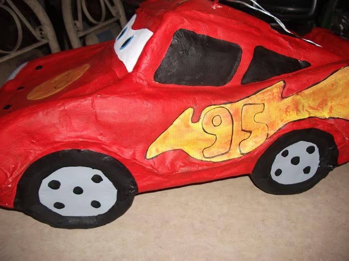 PIÑATA CARS mache