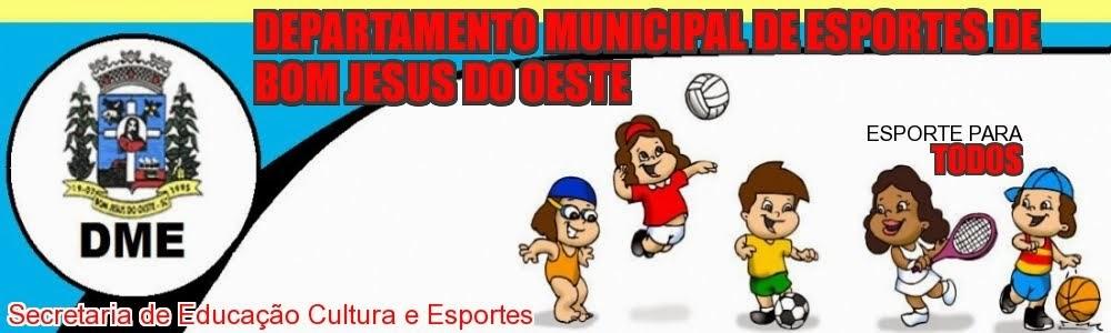 Departamento Municipal de Esportes de Bom Jesus do Oeste