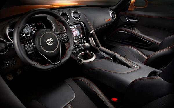 2016 Dodge Viper Dashboard