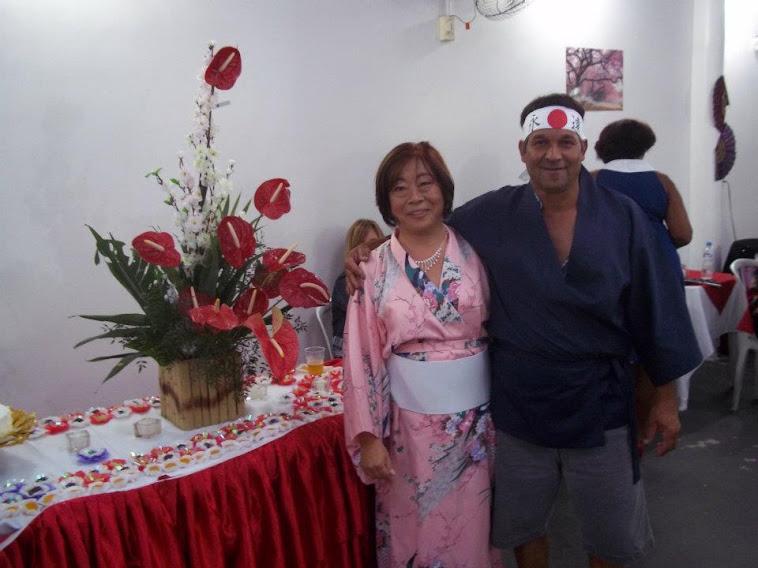 Festa Temática Oriental de Marina Taniguti .
