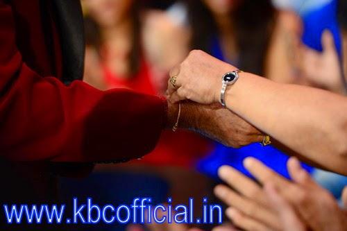 Raksha Bandhan on the set of KBC : Kaun Banega Crorepati official season 8