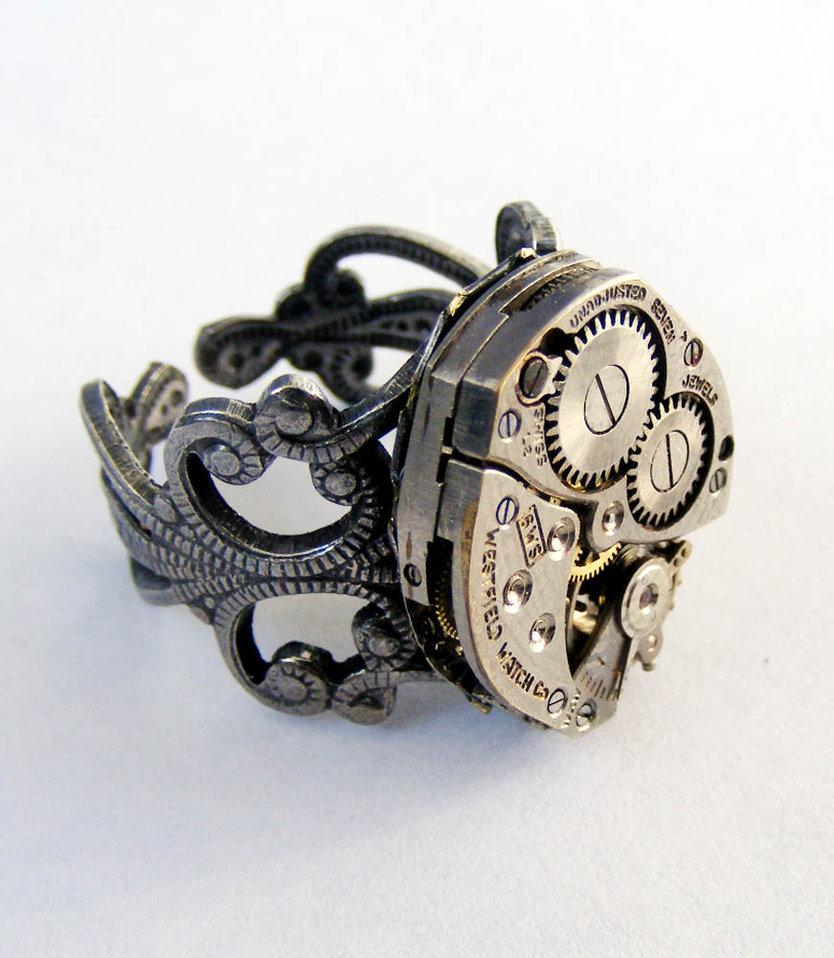 World Clock Wedding Ring