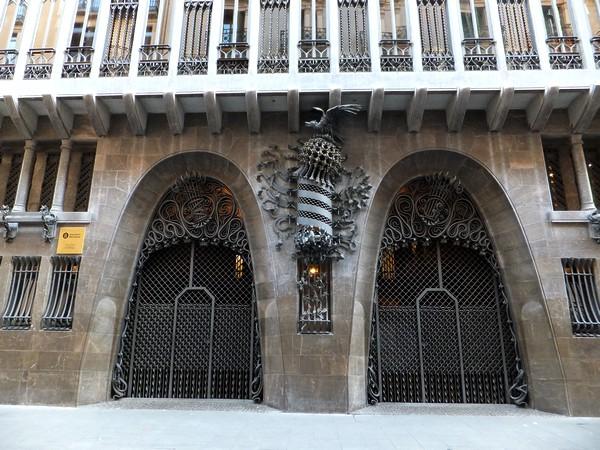 barcelone el raval palais guell